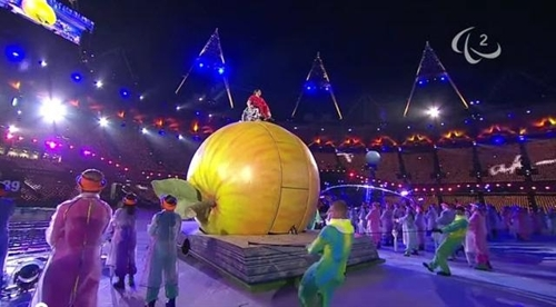 London 2012 Paralympics Opening ceremony The Apple