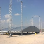 Total Solutions Compound Arch outdoor Roof structure