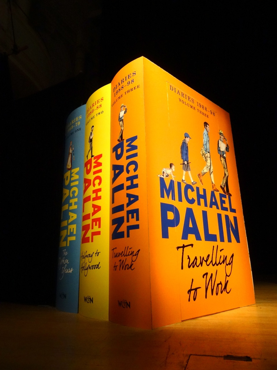 Michael Palin Stage Set - The Books