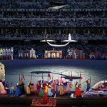 Baku European Games 2015 - The Libra Stage as part of the opening ceremony