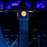 London 2012 Olympics Closing ceremony Big Ben onsite