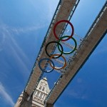 London 2012 Olympics Tower Bridge Rings