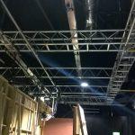 Coronation Street rehearsal studios OV40 Aluminium Truss install