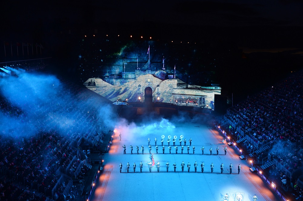 The royal edinburgh military tattoo total solutions group for Royal edinburgh military tattoo